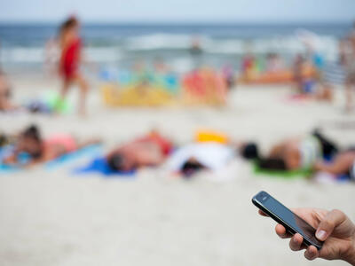 WiFi and apps on vacation: stay away if you have the slightest doubt!