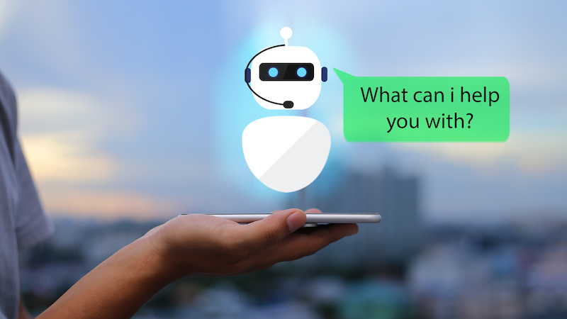 Well advised from the cloud – with chatbot and augmented reality
